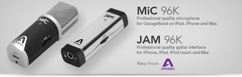 Apogee JAM 96K & MiC 96K