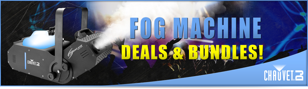 Fog Machine Deals and Bundles