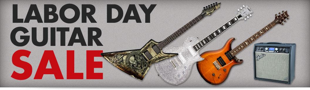 Labor Day Guitar Sale