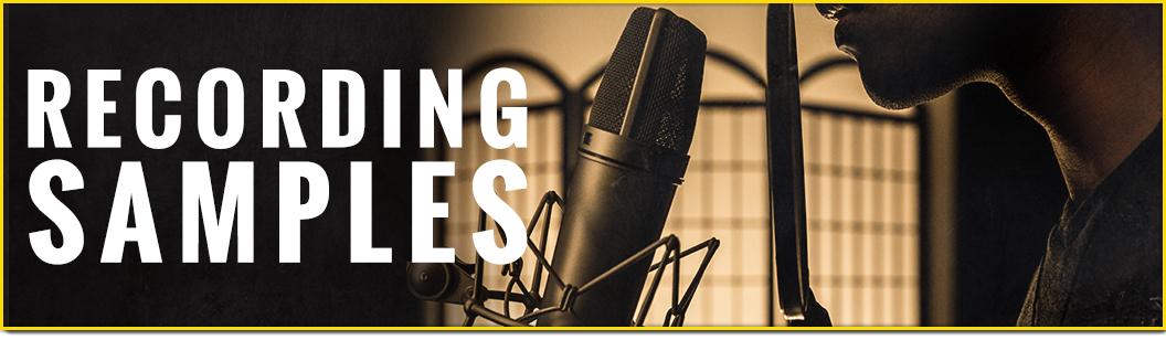 Recording Sample Sale
