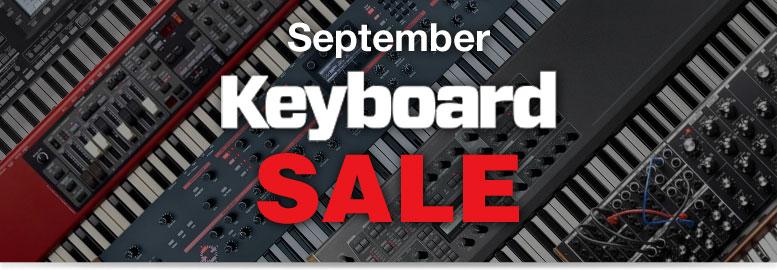 September Keyboard Sale
