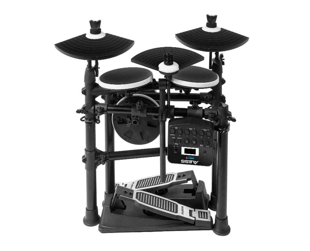 alesis dm lite kit electronic drumset with portable folding rack proaudiostar ebay. Black Bedroom Furniture Sets. Home Design Ideas