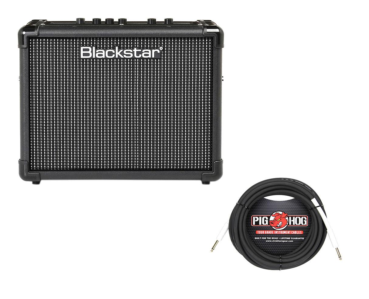 blackstar id core 10 v2 10w digital modeling stereo amp instrument cable ebay. Black Bedroom Furniture Sets. Home Design Ideas
