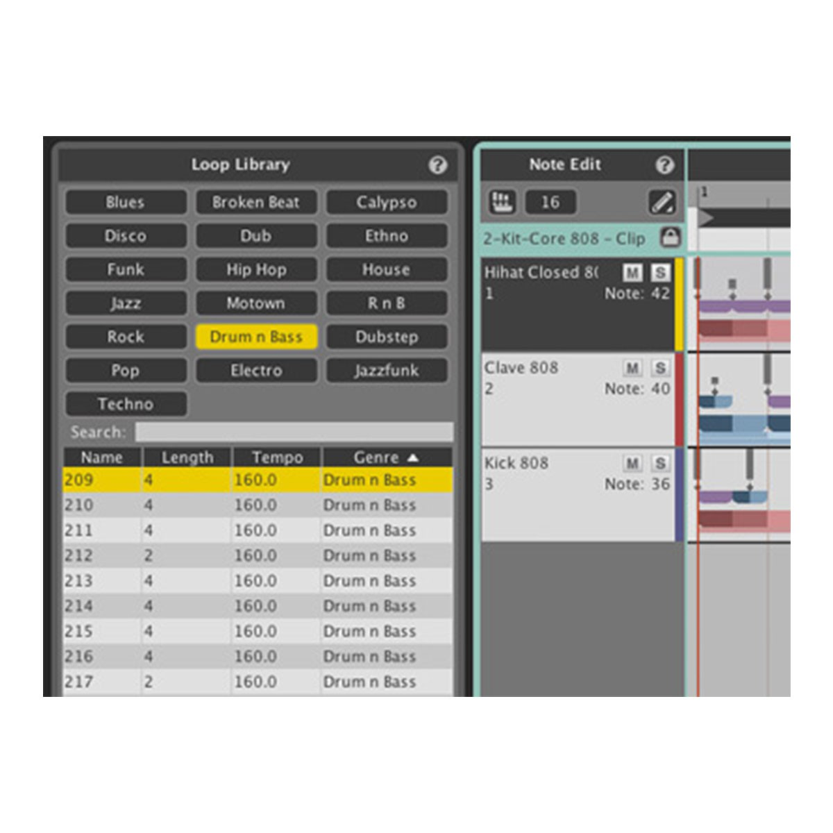 WaveDNA Liquid Rhythm Beat Generation Software- VST, AU