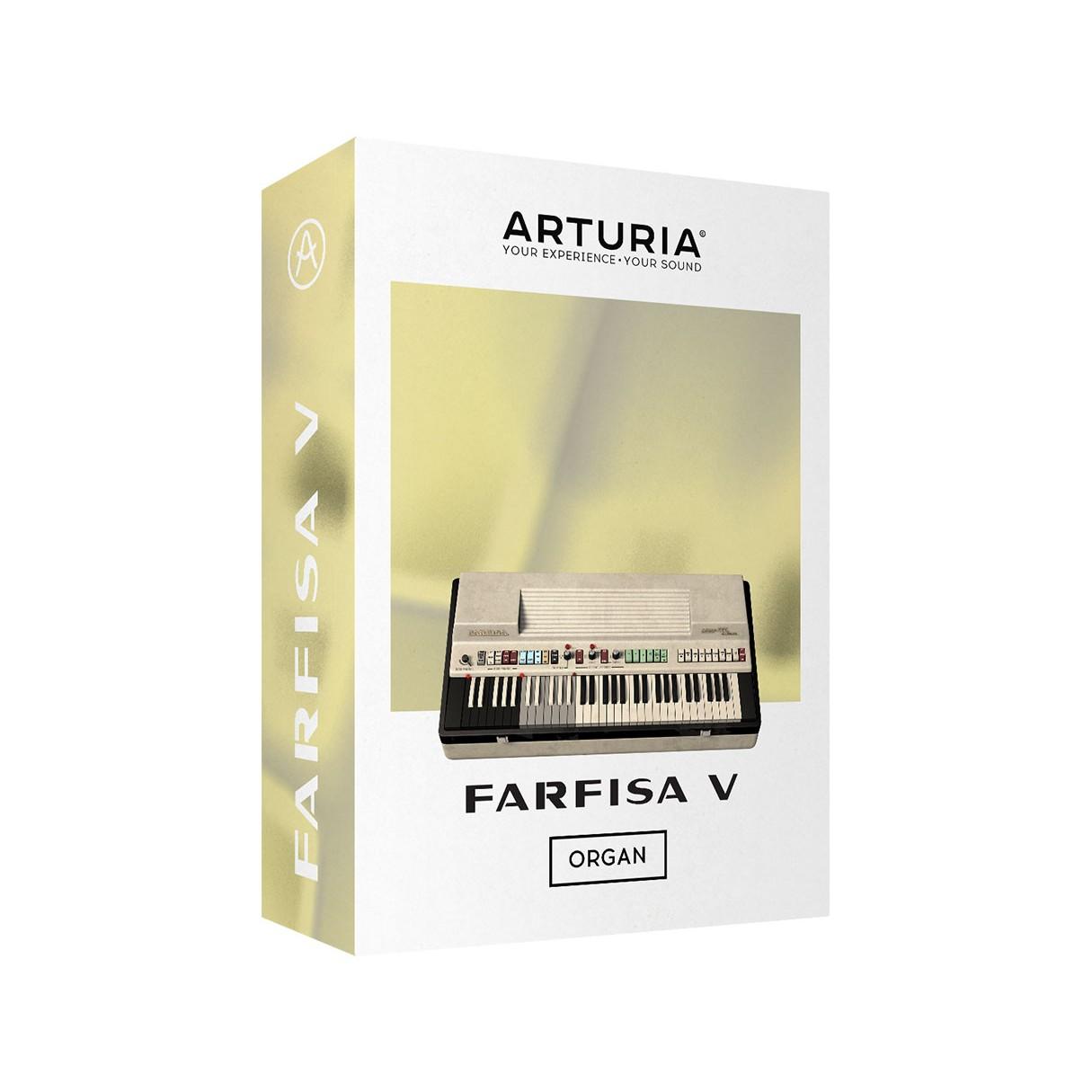 Arturia Farfisa V Software Organ License (Instant Software