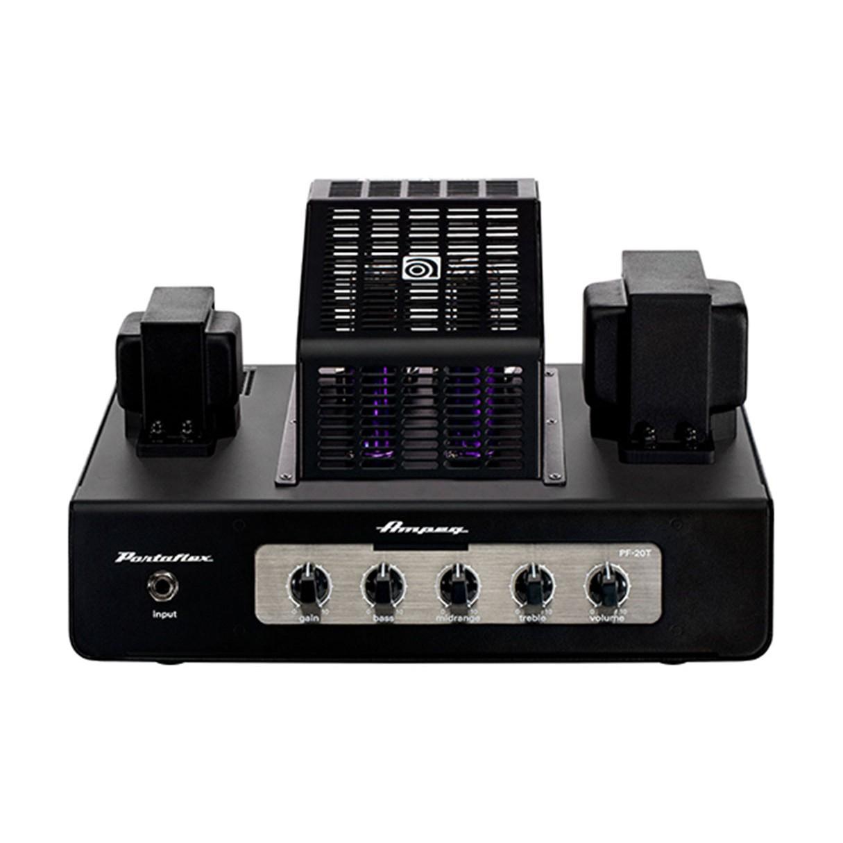 ampeg pf 20t portaflex 20w tube bass amp head