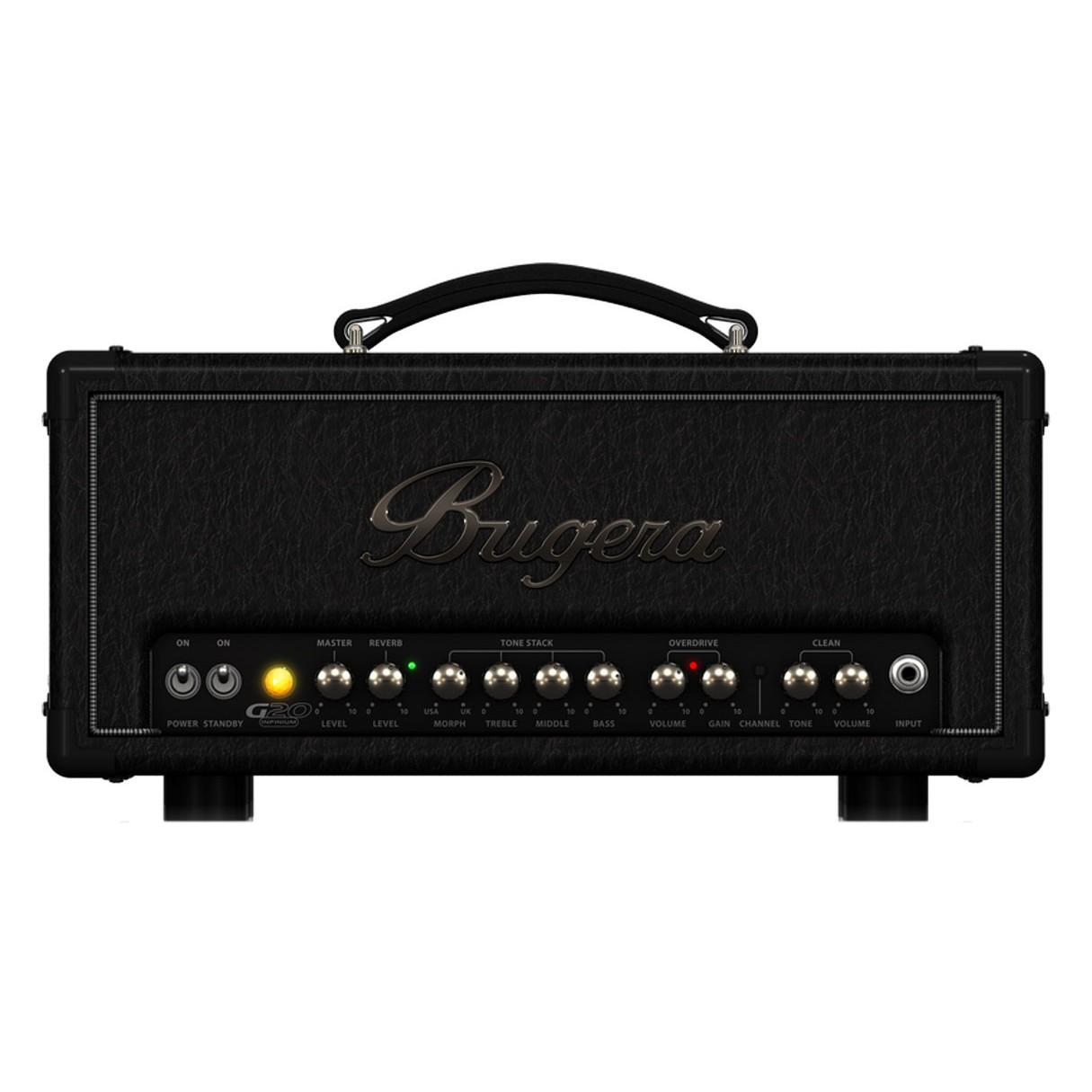 bugera g20 infinium 20 watt class a tube amplifier head