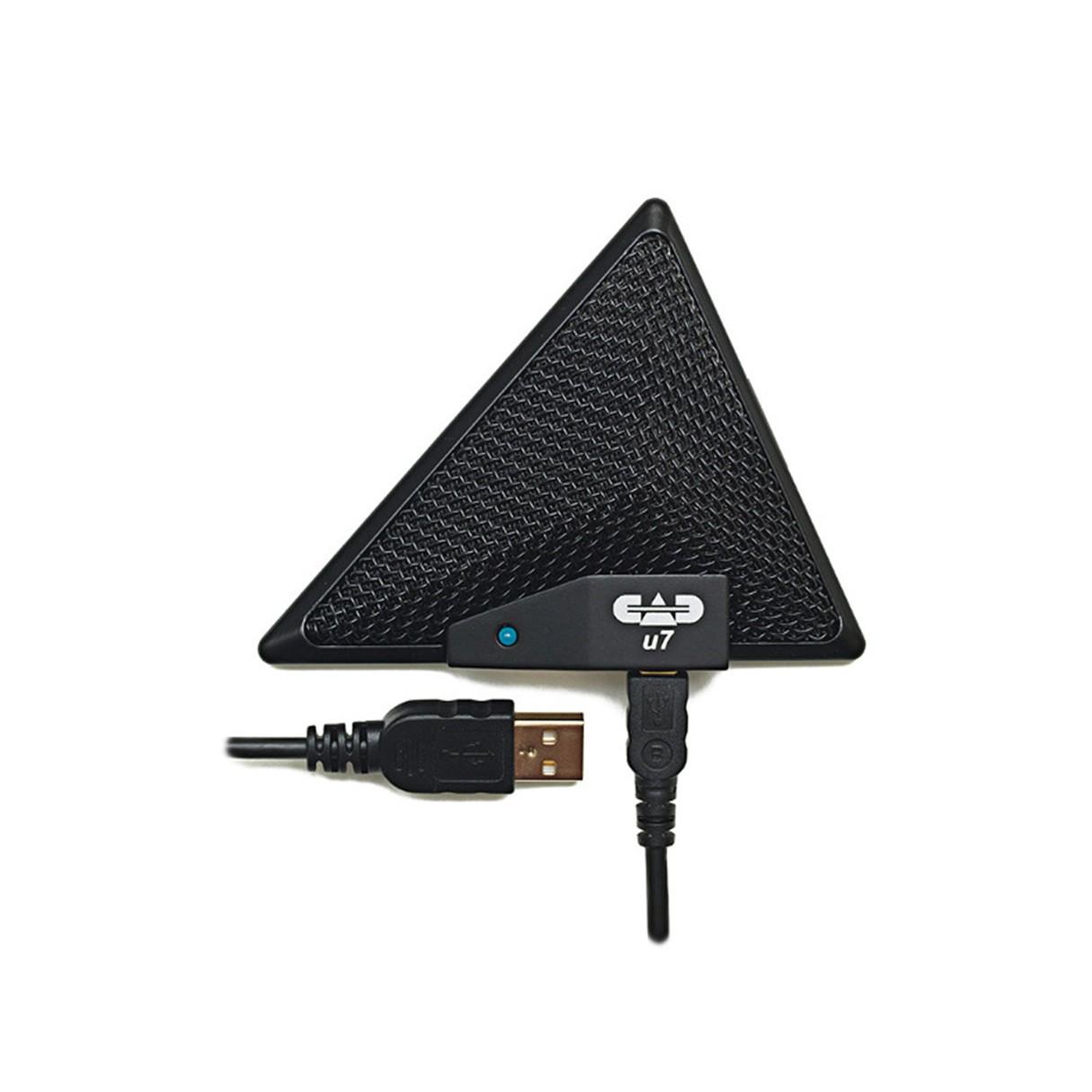 cad u7 usb boundary omnidirectional condenser microphone 10 usb cable. Black Bedroom Furniture Sets. Home Design Ideas