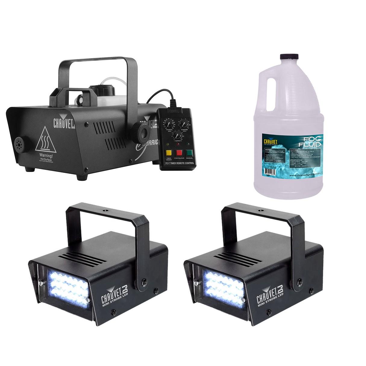 chauvet dj hurricane 1200 strobe lights fog fluid. Black Bedroom Furniture Sets. Home Design Ideas