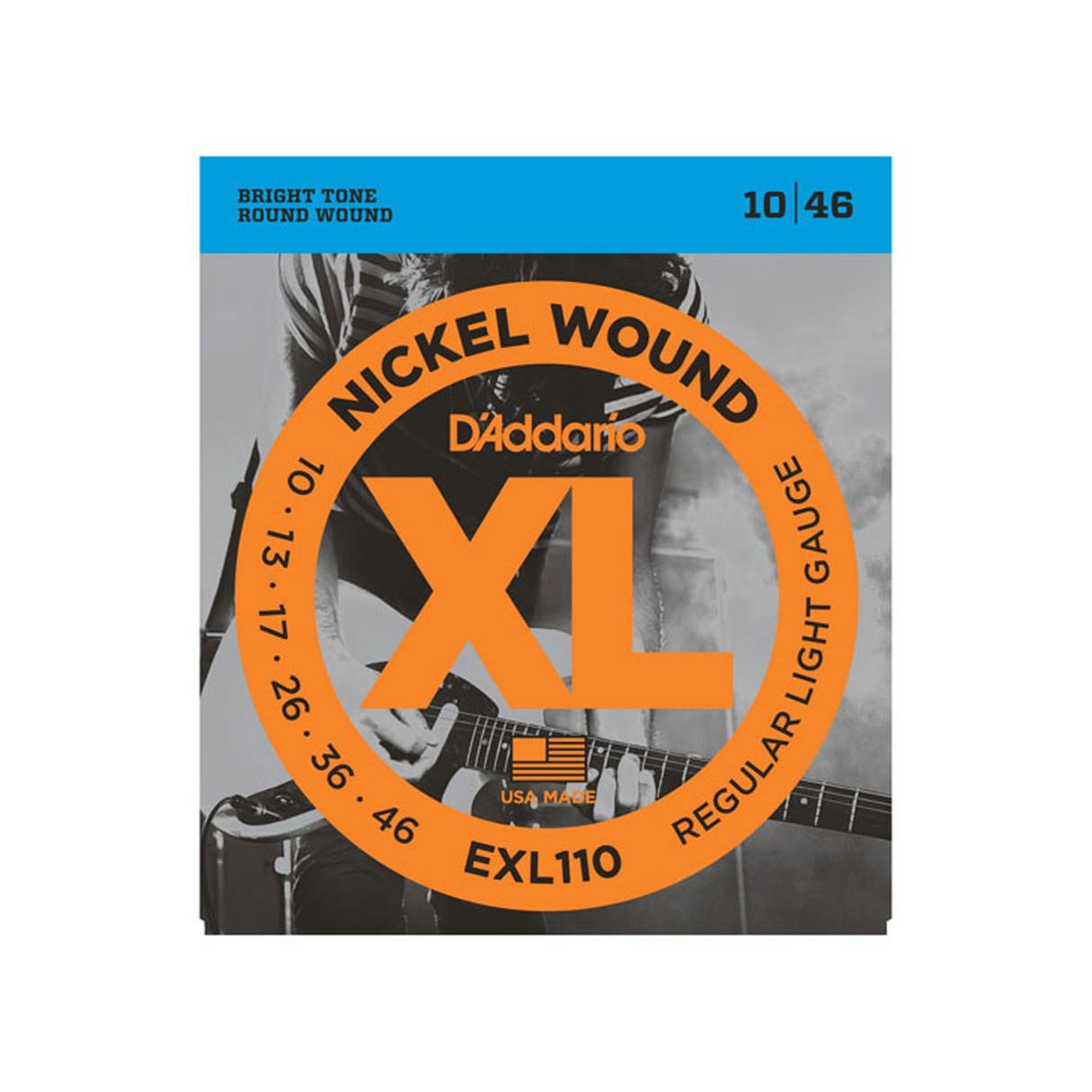 d 39 addario exl110 nickel wound electric guitar strings. Black Bedroom Furniture Sets. Home Design Ideas