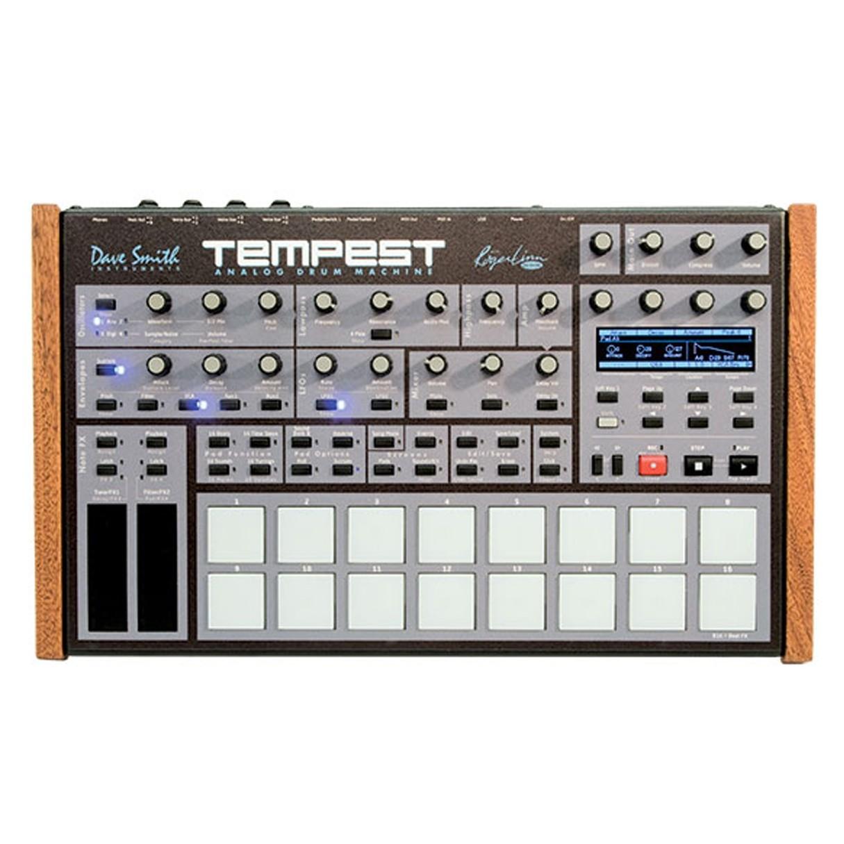 dave smith instrument tempest analog drum machine. Black Bedroom Furniture Sets. Home Design Ideas