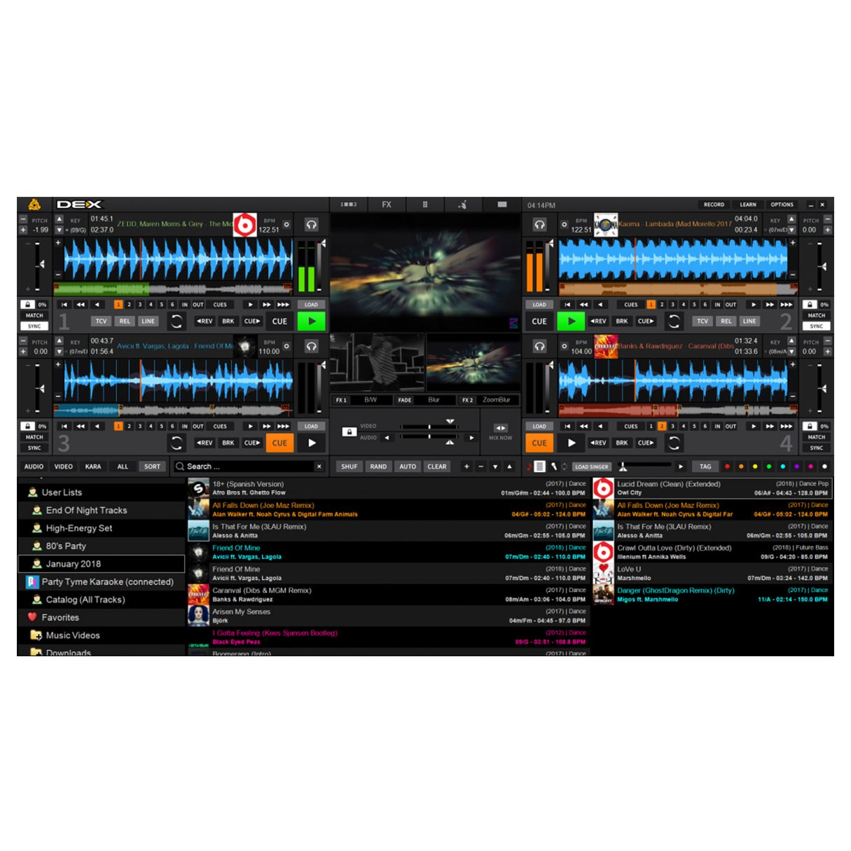 PCDJ DEX 3 DJ Software: Mix Audio, Video & Karaoke (Instant