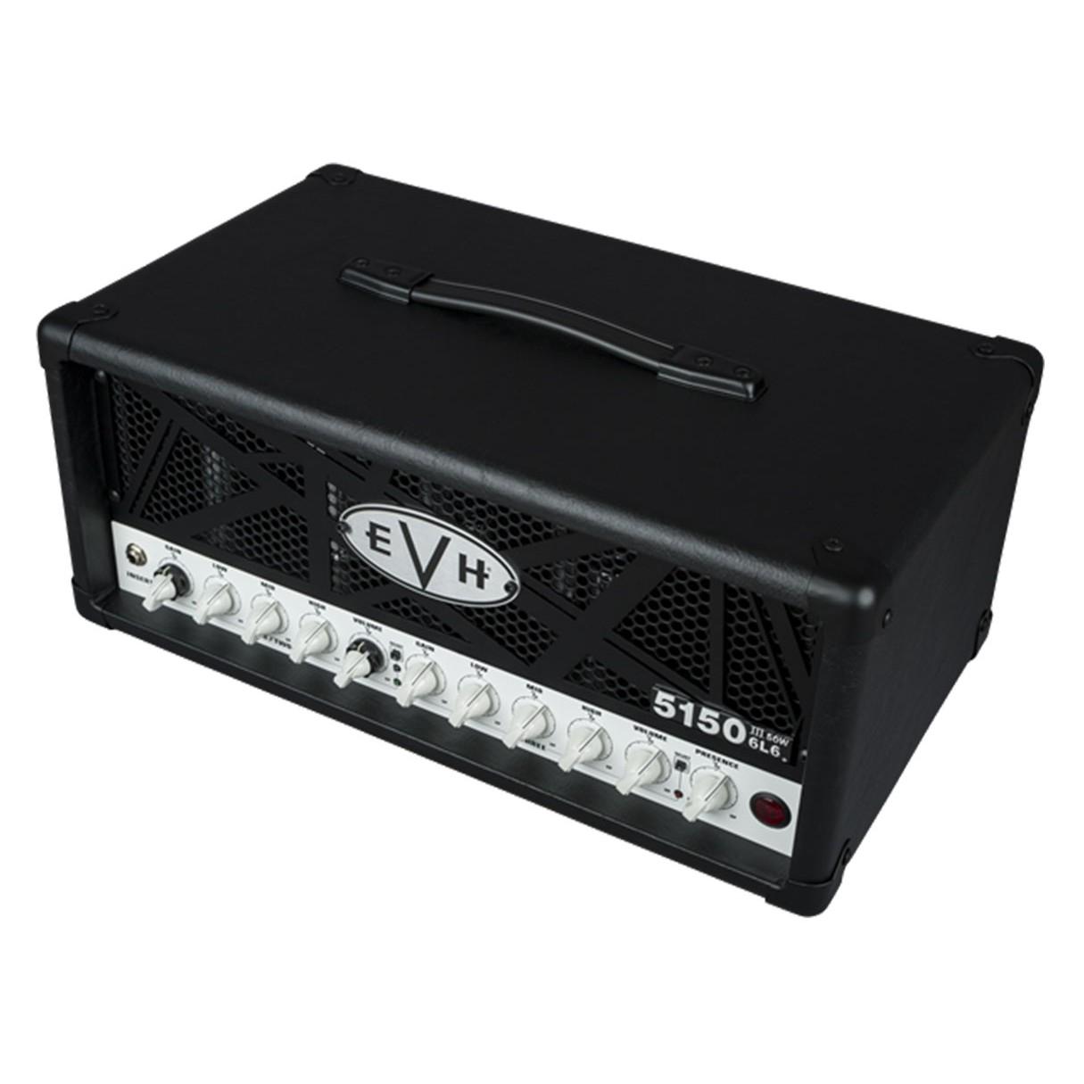 evh 5150iii 50 watt 6l6 guitar head black. Black Bedroom Furniture Sets. Home Design Ideas
