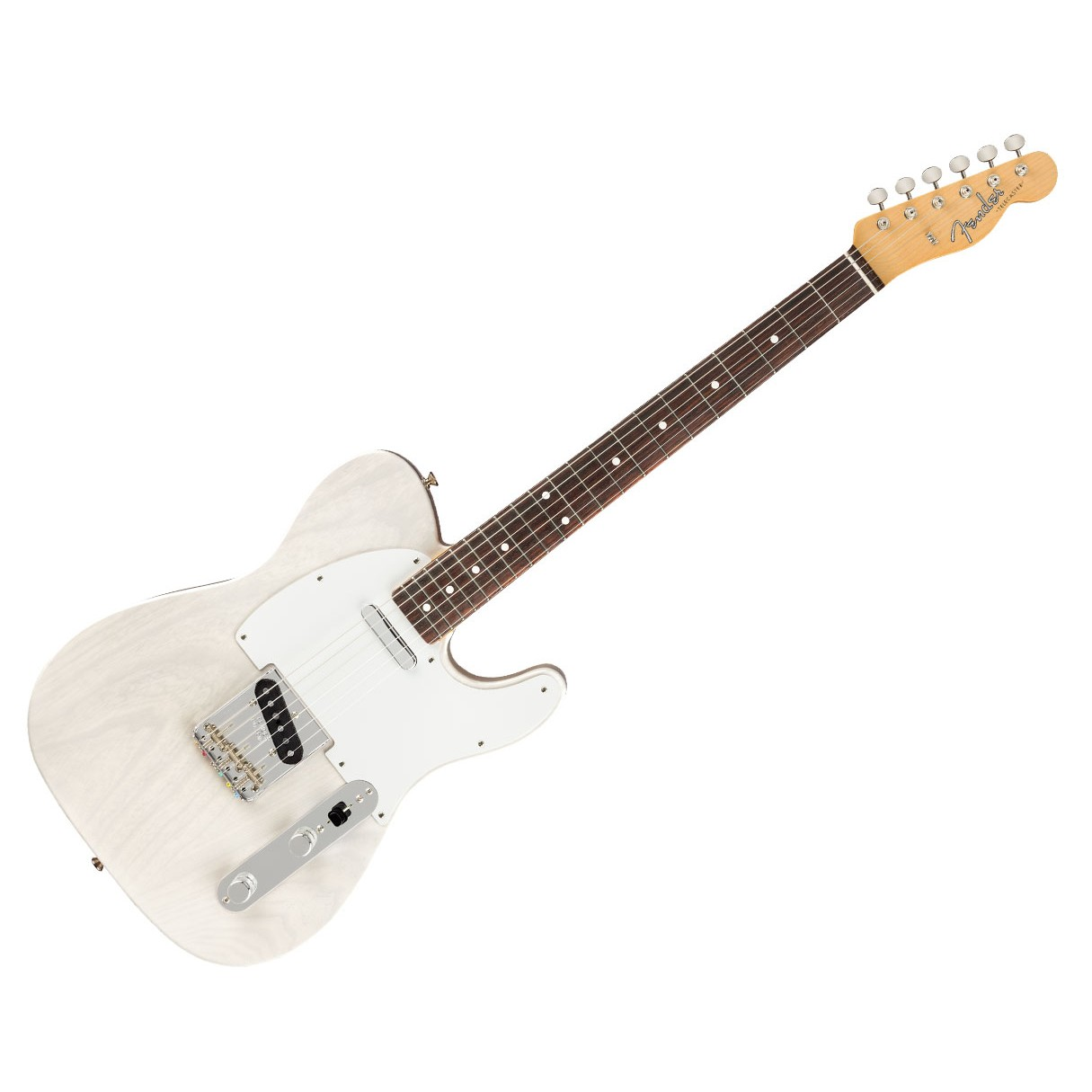 fender jimmy page mirror telecaster white blonde w rosewood fingerboard. Black Bedroom Furniture Sets. Home Design Ideas