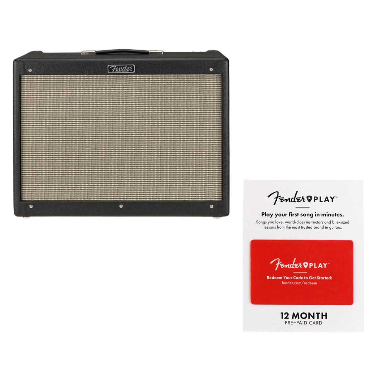 fender hot rod deluxe iv black fender play 12 month card. Black Bedroom Furniture Sets. Home Design Ideas
