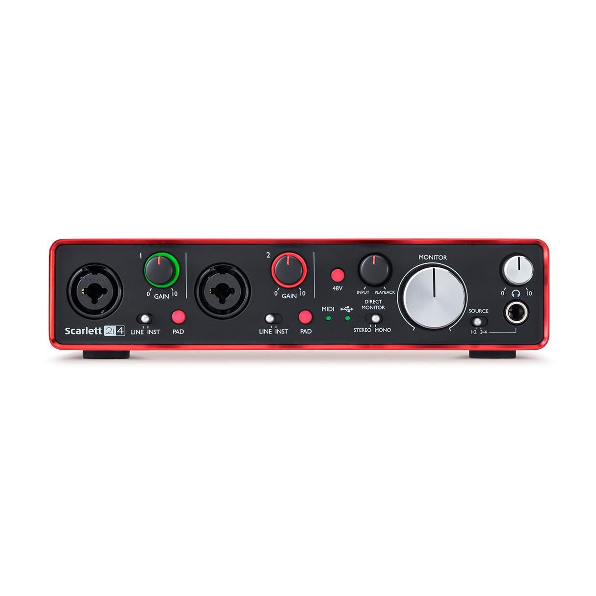 focusrite scarlett 2i4 2nd gen studio headphones. Black Bedroom Furniture Sets. Home Design Ideas