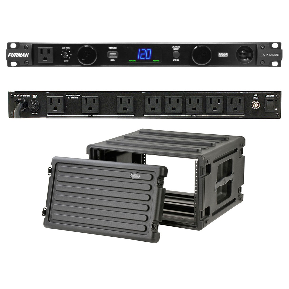 Furman PL-Pro DMC + SKB 1SKB-R6U