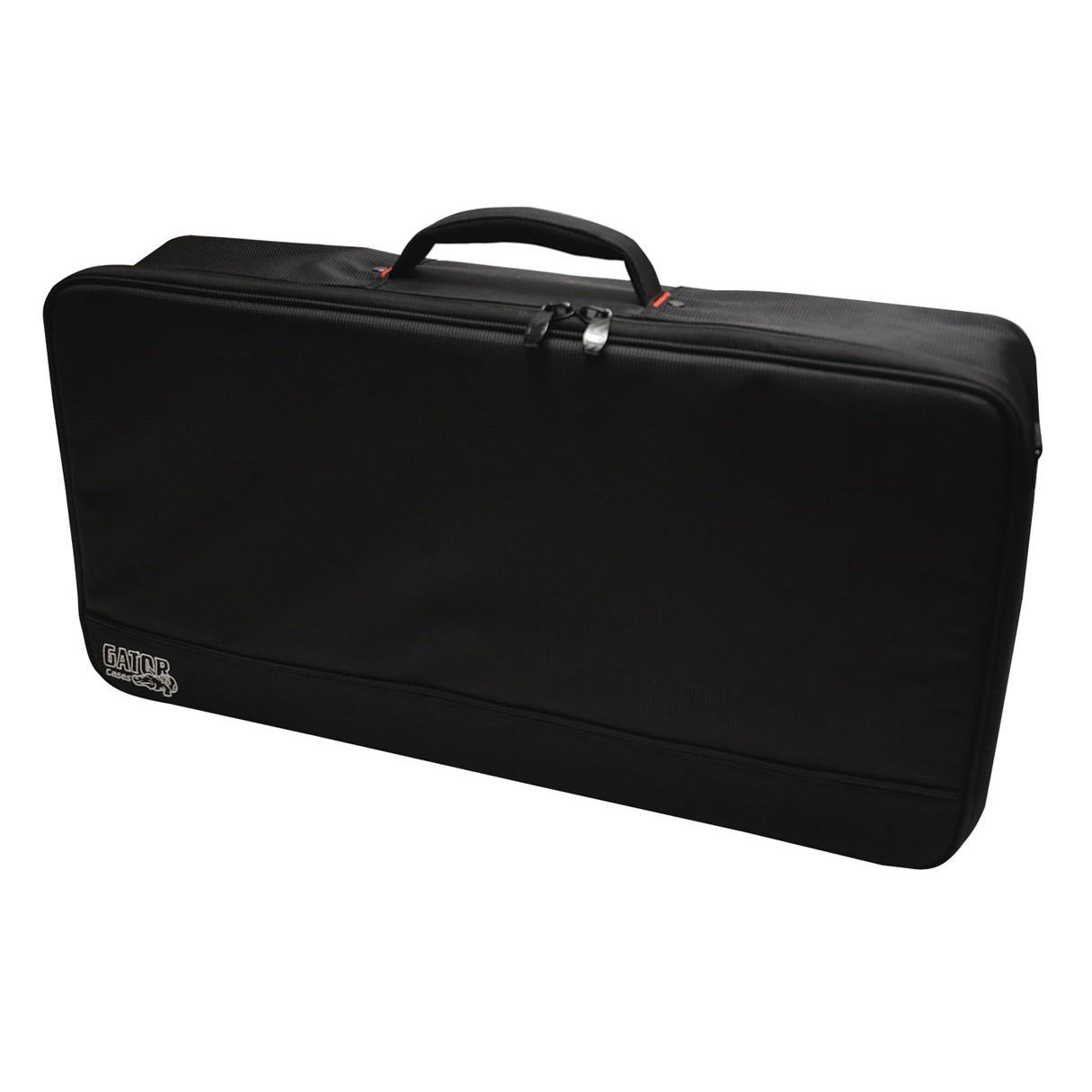 Gator Gpb Bak 1 Black Aluminum Pedal Board Large W Carry Bag