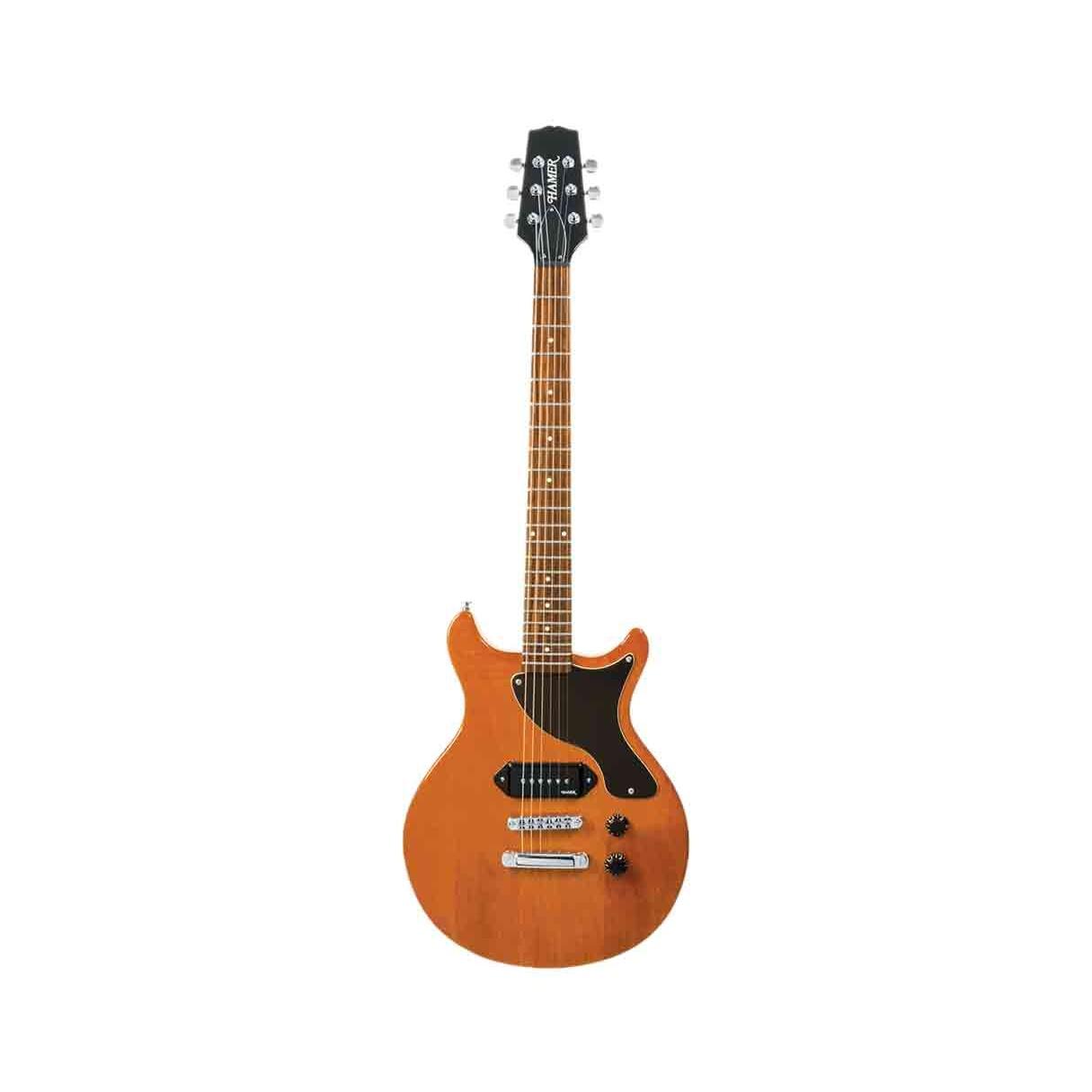 hamer special jr electric guitar natural gloss used. Black Bedroom Furniture Sets. Home Design Ideas