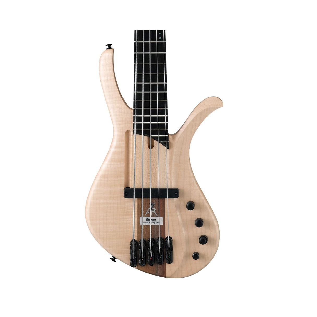 ibanez afr5fmpntf afr 5 string electric bass natural flat. Black Bedroom Furniture Sets. Home Design Ideas