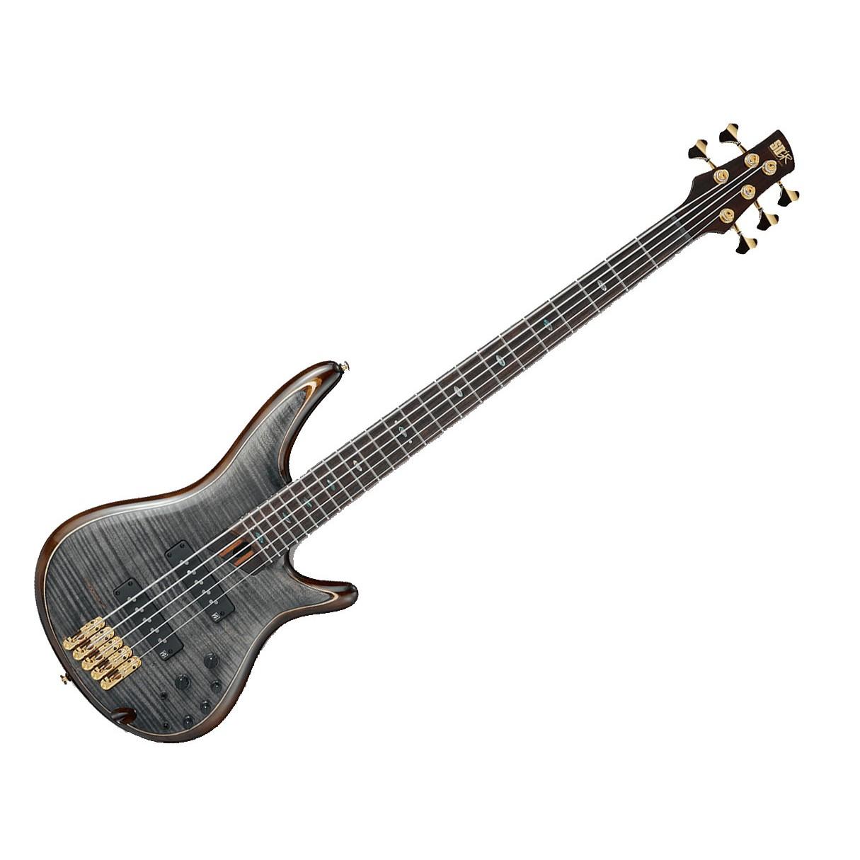 ibanez sr1405e 5 string premium electric bass trans gray black. Black Bedroom Furniture Sets. Home Design Ideas