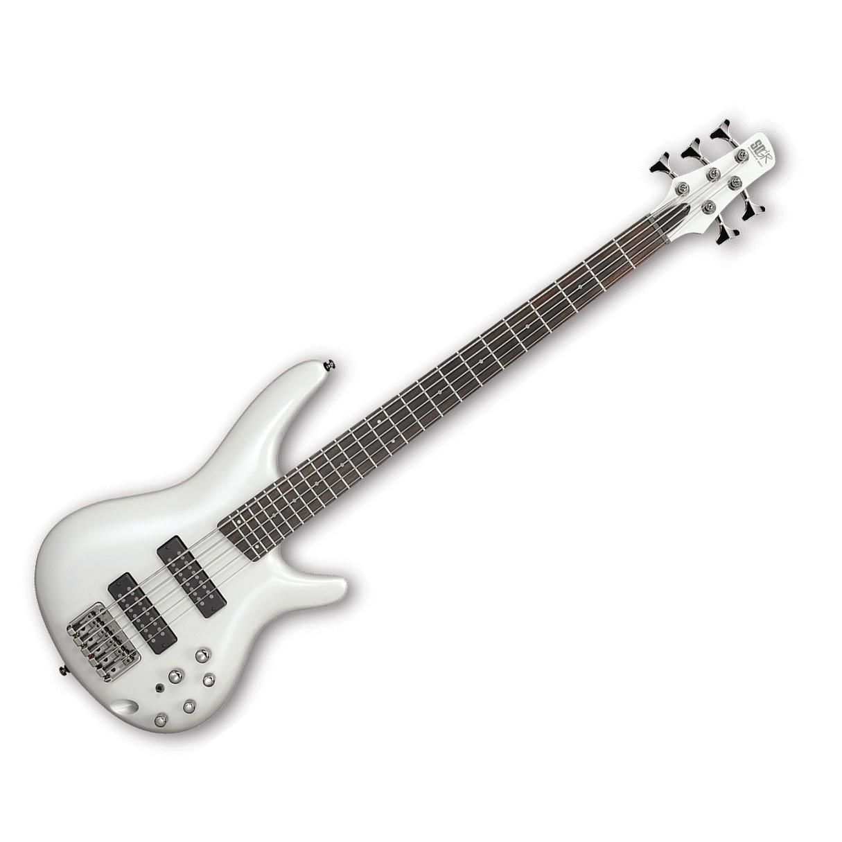ibanez sr305e 5 string electric bass pearl white. Black Bedroom Furniture Sets. Home Design Ideas