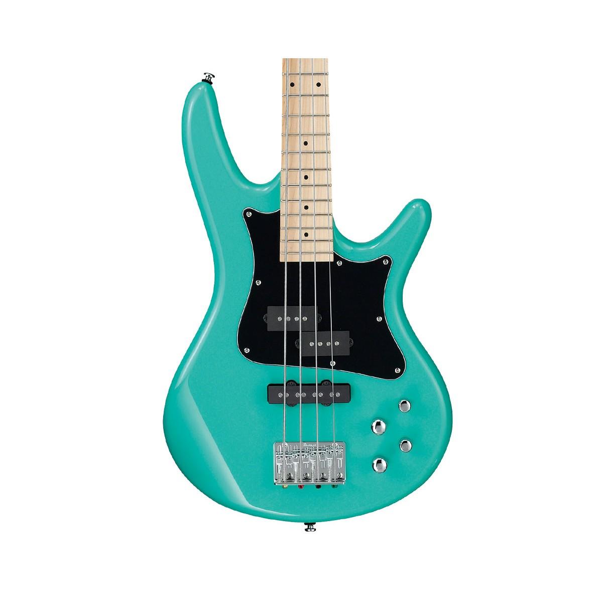ibanez srmd200kaqg sr mezzo 4 string electric bass 32 scale aqua green. Black Bedroom Furniture Sets. Home Design Ideas