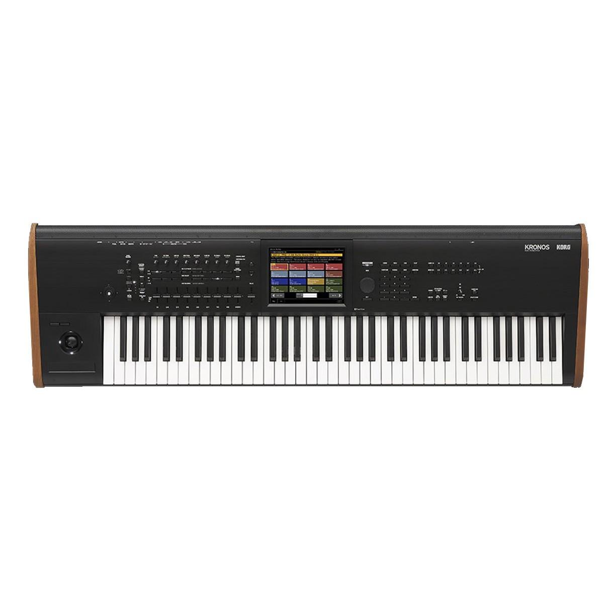 korg kronos 2 73 key synthesizer workstation keyboard. Black Bedroom Furniture Sets. Home Design Ideas