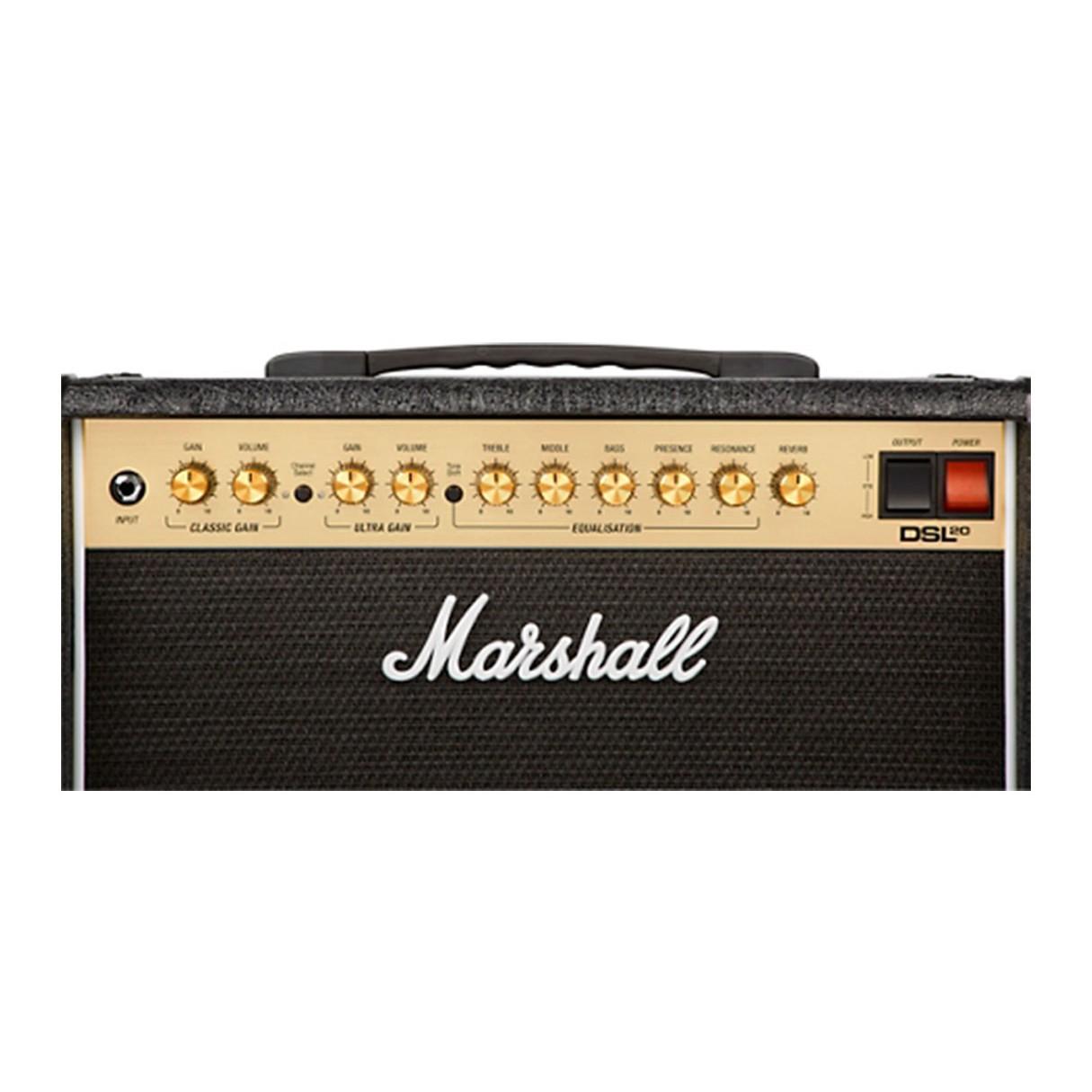 marshall dsl20cr 1x12 20 watt combo amp. Black Bedroom Furniture Sets. Home Design Ideas