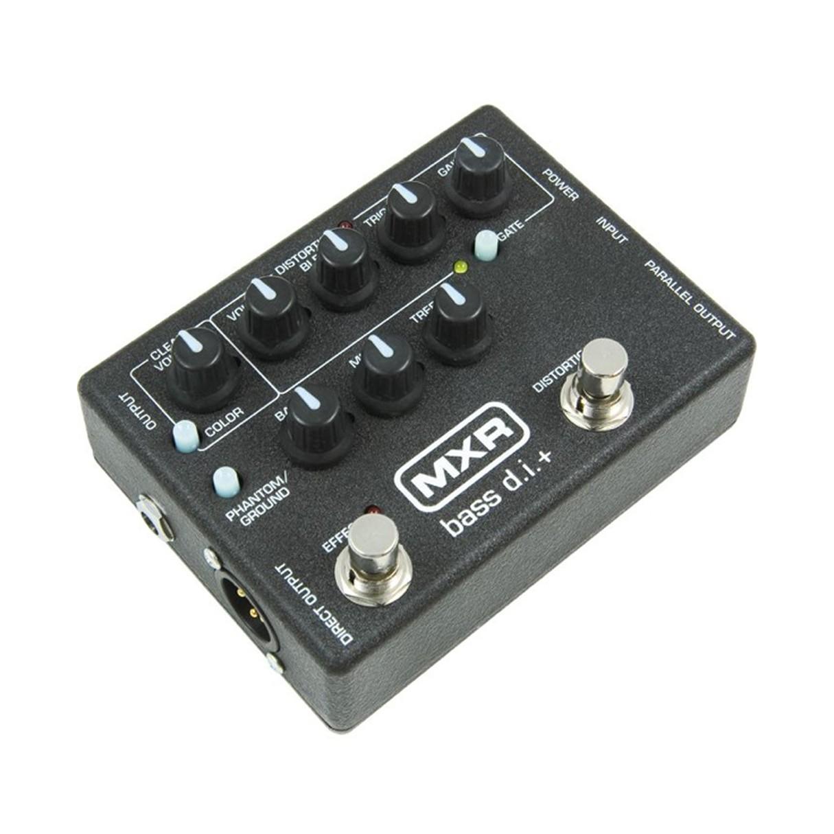 mxr m80 bass direct box with distortion