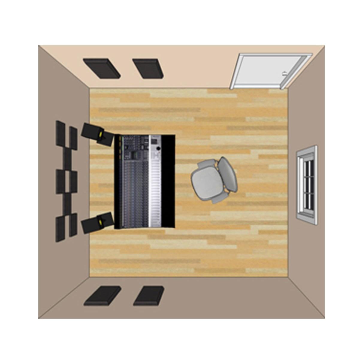primacoustic london 8 room kit. Black Bedroom Furniture Sets. Home Design Ideas