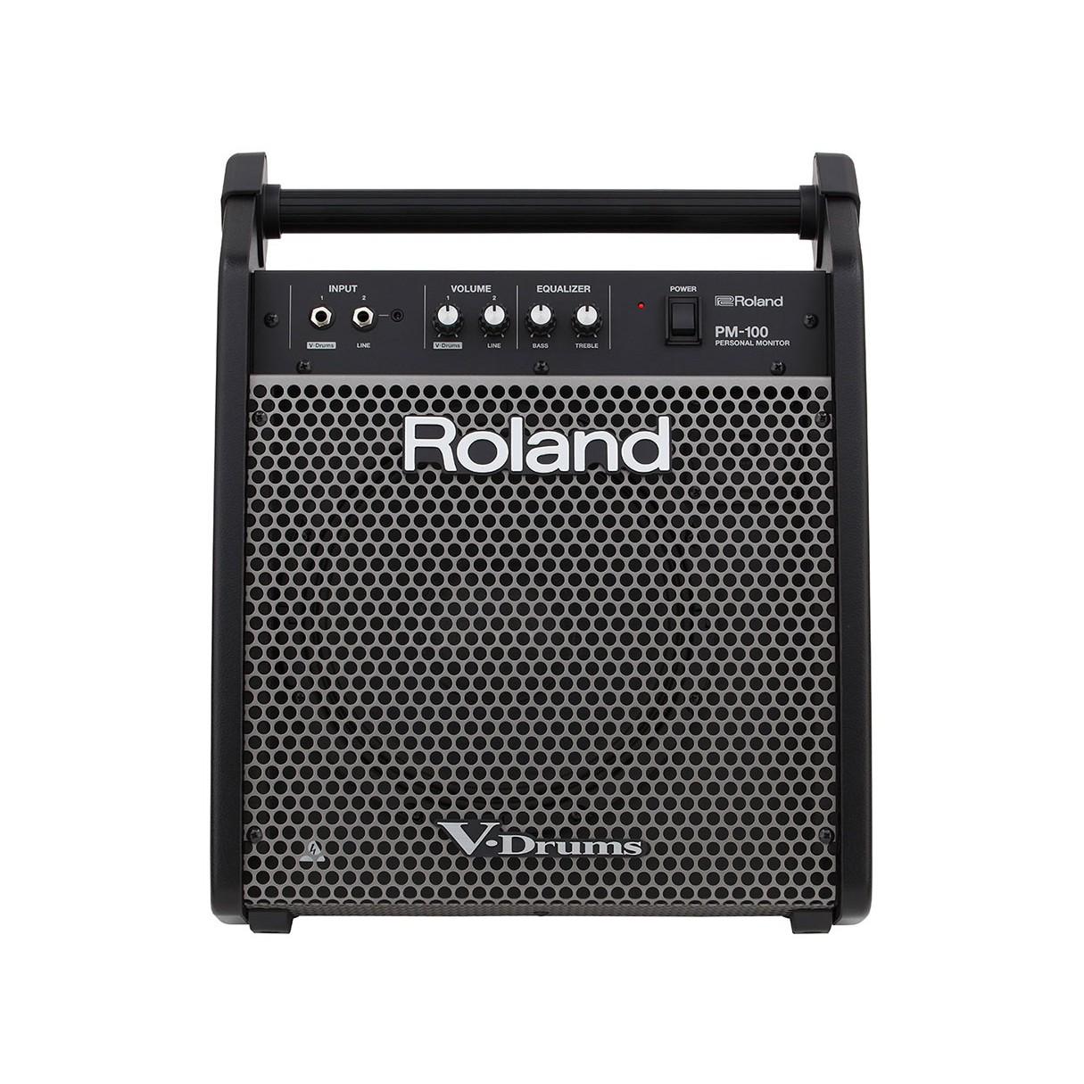 Roland TD-17KV Electronic Drum Set + Monitor + Kick Pedal + Throne +