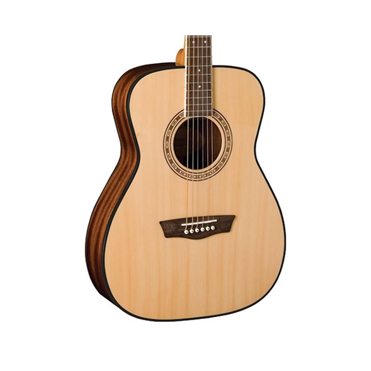 washburn af5k a apprentice 5 series folk acoustic guitar w case. Black Bedroom Furniture Sets. Home Design Ideas