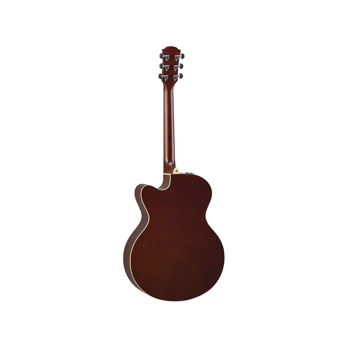 yamaha cpx600 old violin sunburst medium jumbo cutaway acoustic electric guitar. Black Bedroom Furniture Sets. Home Design Ideas