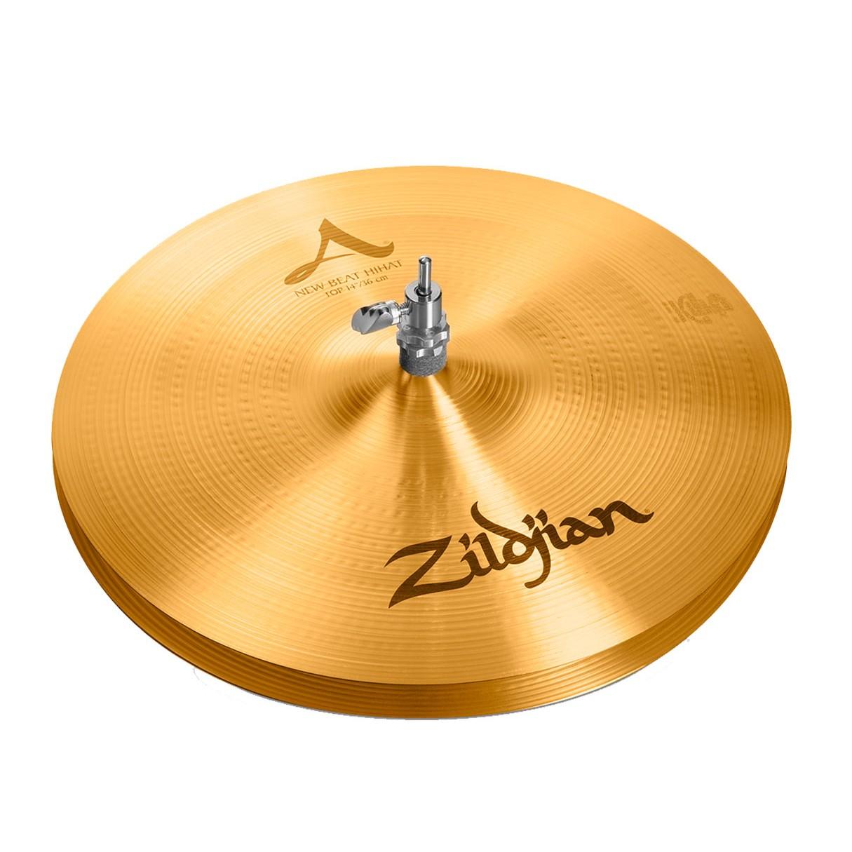 zildjian a0133 14 new beat hihat pair drum cymbal. Black Bedroom Furniture Sets. Home Design Ideas