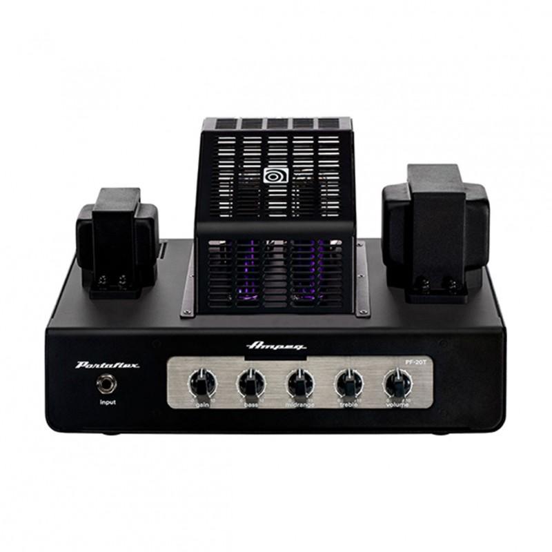 ampeg pf 20t portaflex 20w tube bass amp head. Black Bedroom Furniture Sets. Home Design Ideas