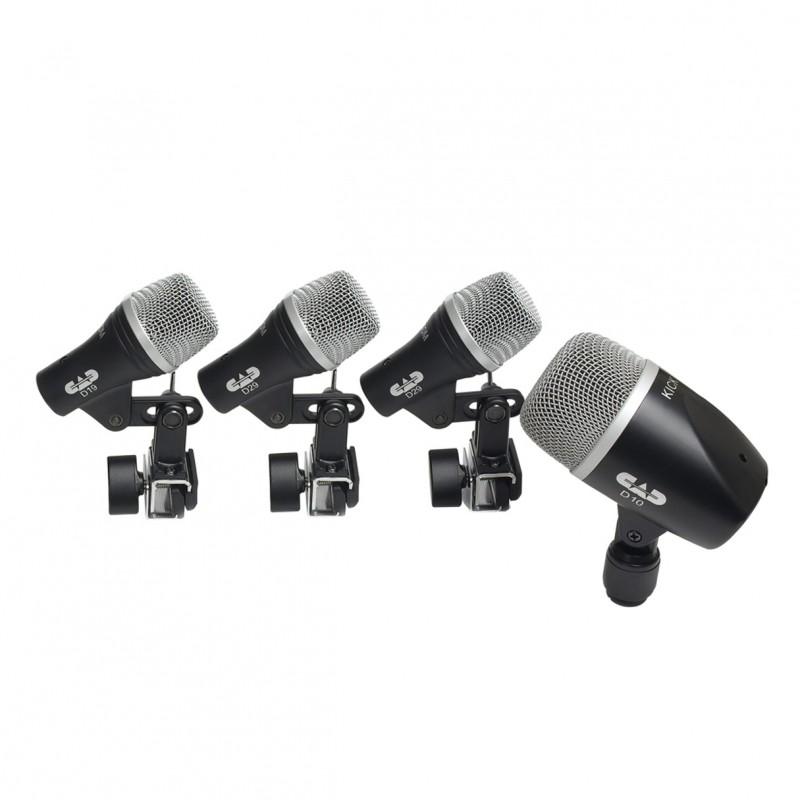 cad stage 4 drum microphone package. Black Bedroom Furniture Sets. Home Design Ideas