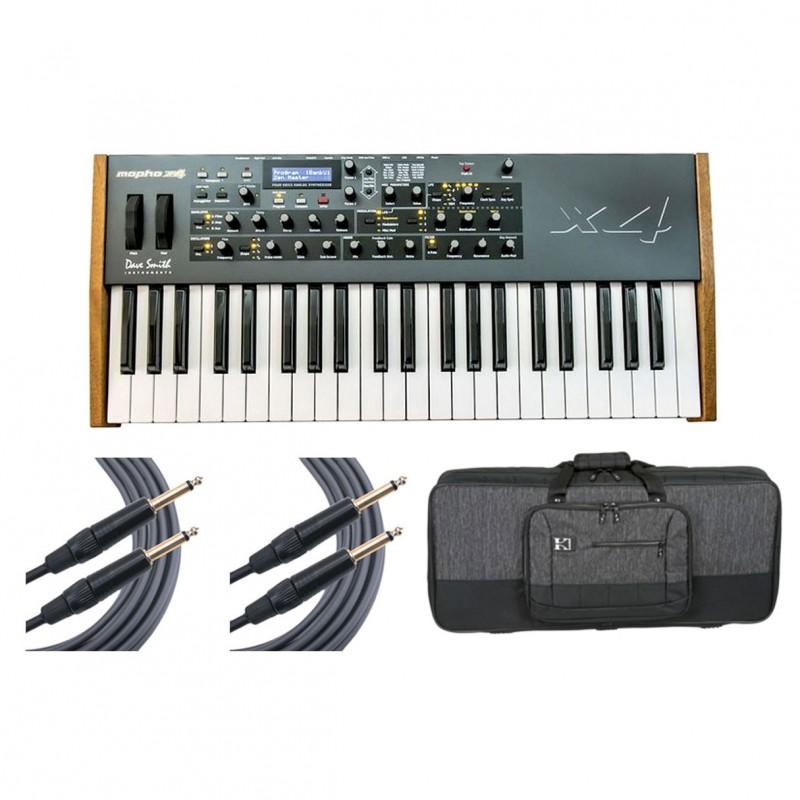 dave smith instruments mopho x4 keyboard bag cables. Black Bedroom Furniture Sets. Home Design Ideas