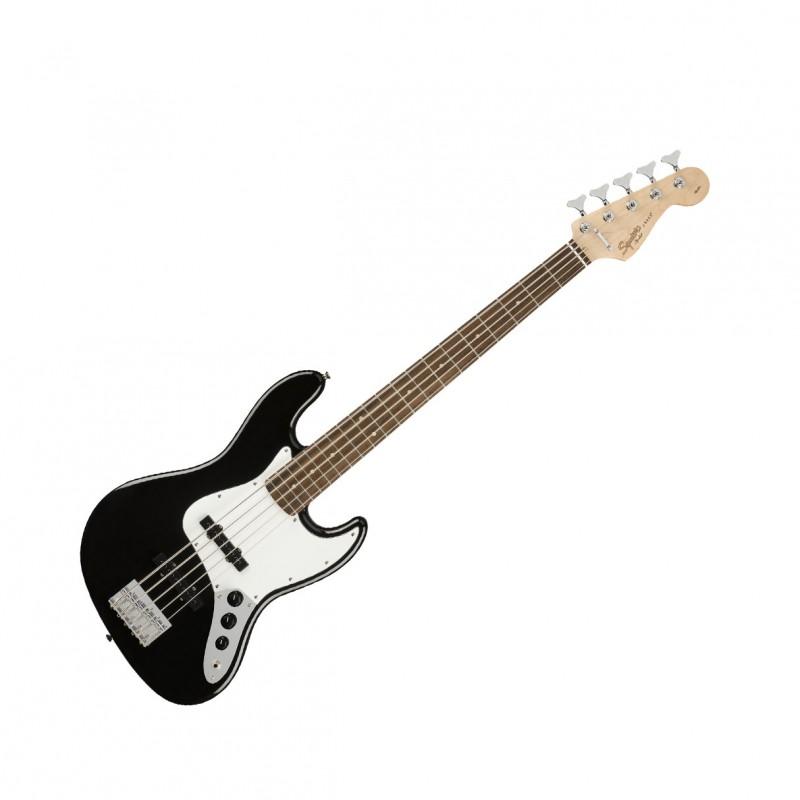 squier affinity series jazz bass v 5 string black w laurel fingerboard. Black Bedroom Furniture Sets. Home Design Ideas