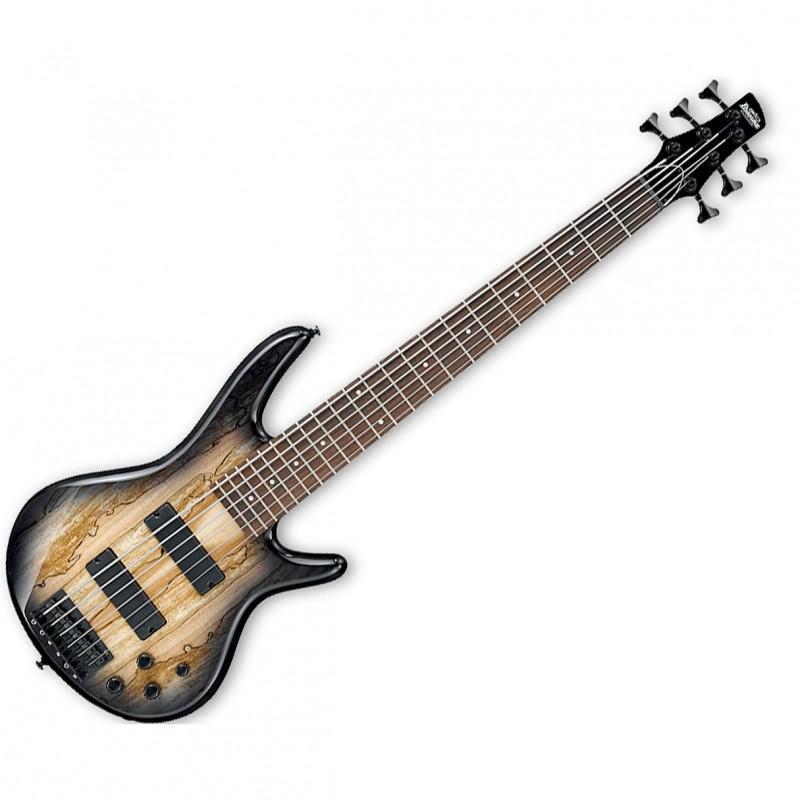 ibanez gsr206sm 6 string electric bass guitar in natural gray burst. Black Bedroom Furniture Sets. Home Design Ideas