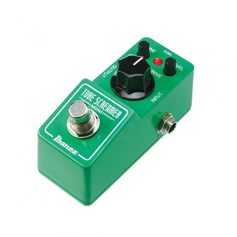 ibanez ts mini tube screamer mini guitar overdrive pedal. Black Bedroom Furniture Sets. Home Design Ideas