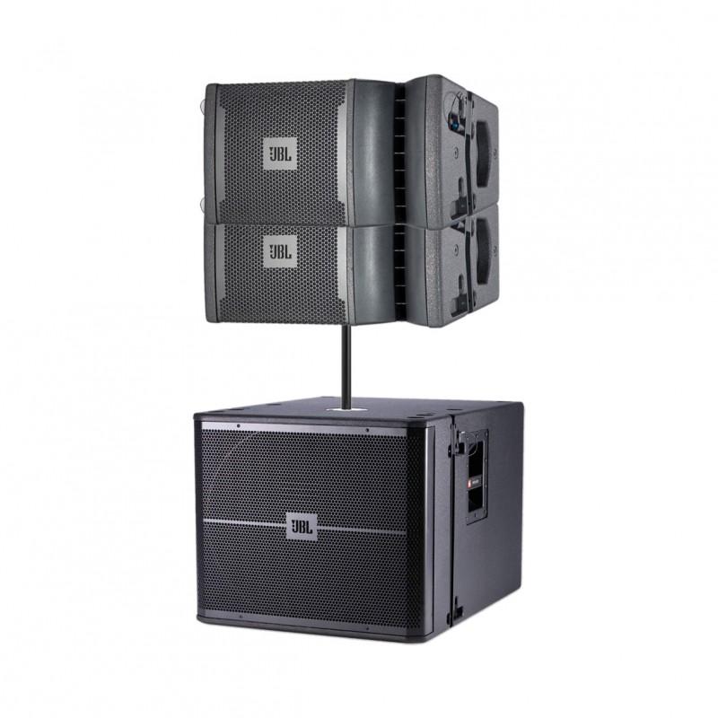 2x jbl vrx932lap vrx918sp pole. Black Bedroom Furniture Sets. Home Design Ideas