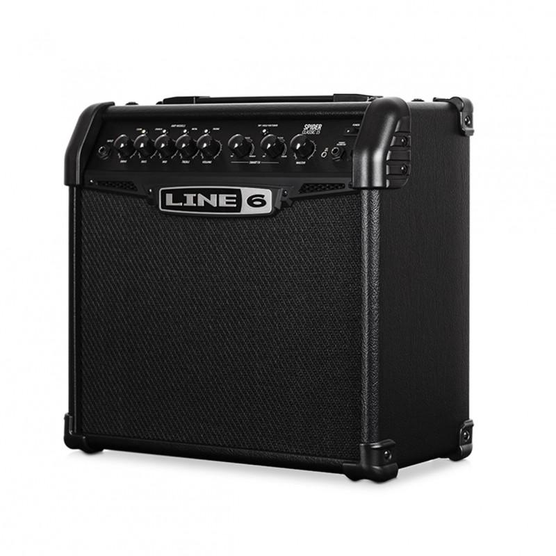 line 6 spider 15 classic 15 watt guitar amplifier. Black Bedroom Furniture Sets. Home Design Ideas