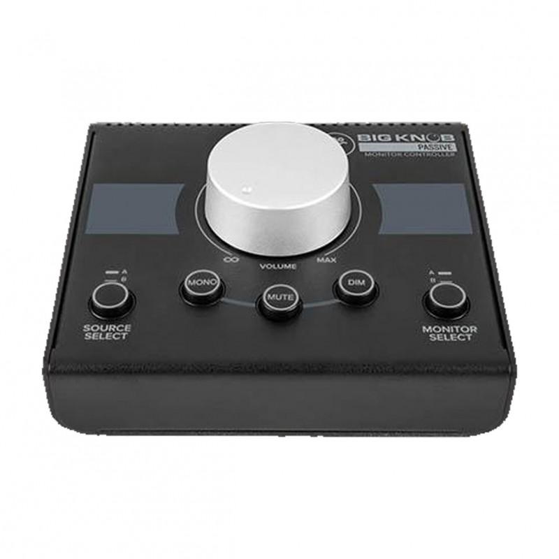 mackie big knob passive 2x2 studio monitor controller. Black Bedroom Furniture Sets. Home Design Ideas