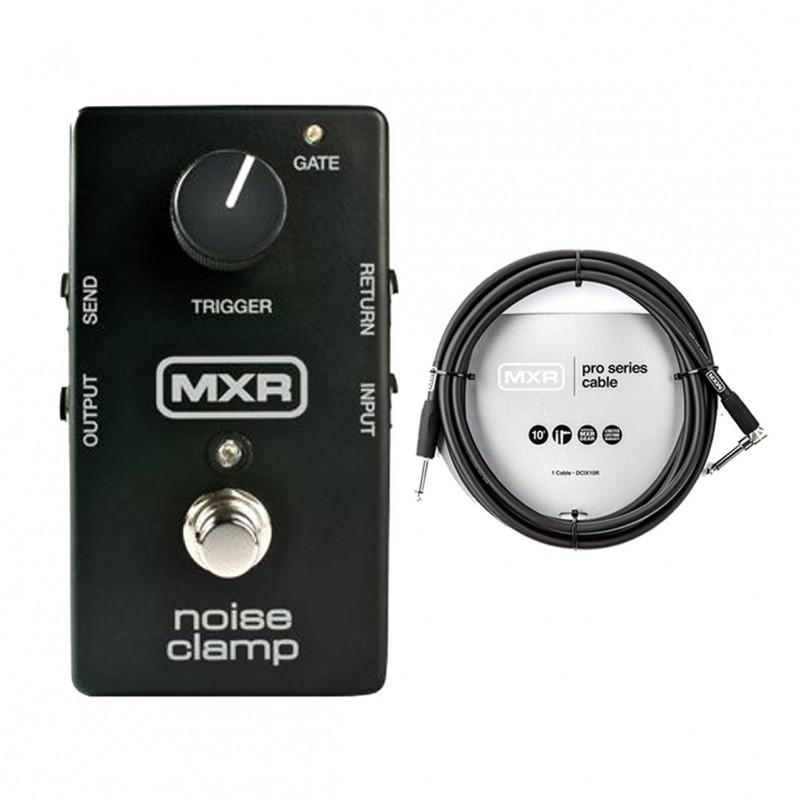 MXR M195 Noise Clamp Noise Gate + 10' Instrument Cable
