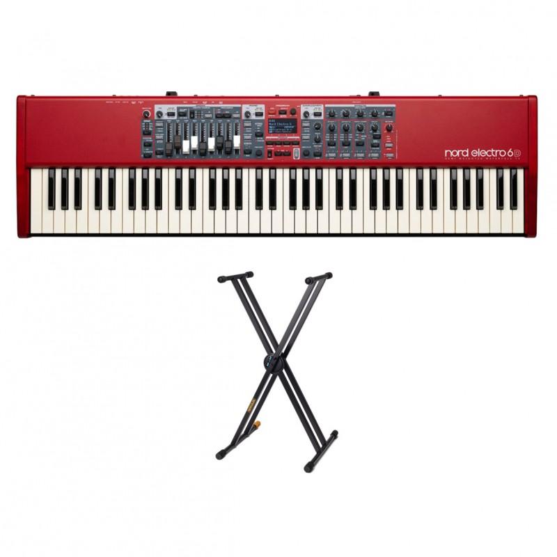 nord electro 6d 73 hercules ks120b keyboard stand. Black Bedroom Furniture Sets. Home Design Ideas