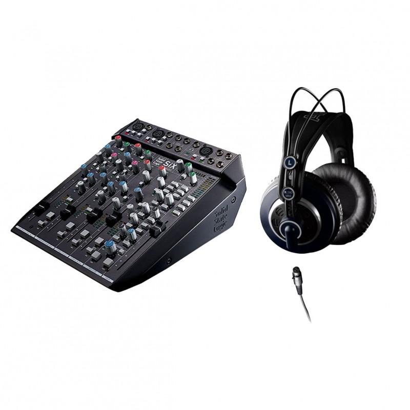 solid state logic six semi open mix headphones. Black Bedroom Furniture Sets. Home Design Ideas