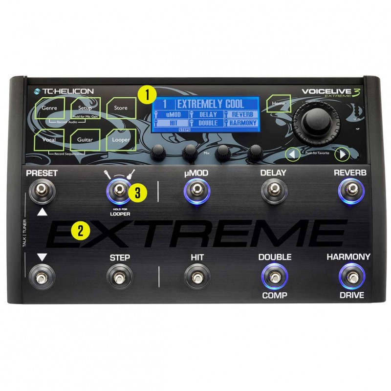 TC Helicon Voicelive 3 Extreme Edition
