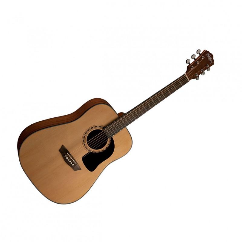 washburn ad5k a apprentice 5 series dreadnought acoustic guitar w case. Black Bedroom Furniture Sets. Home Design Ideas