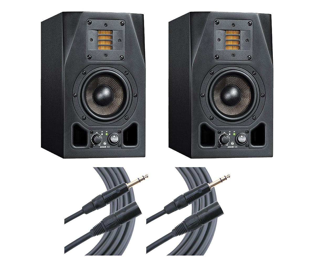 2x ADAM A3X + Mogami Cables